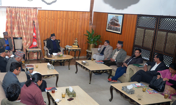 Maoist HQ meeting